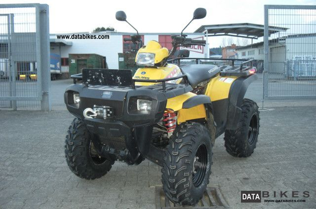 2004 Polaris  Sportsman 700 Winch aufen way to the technical approval Motorcycle Quad photo
