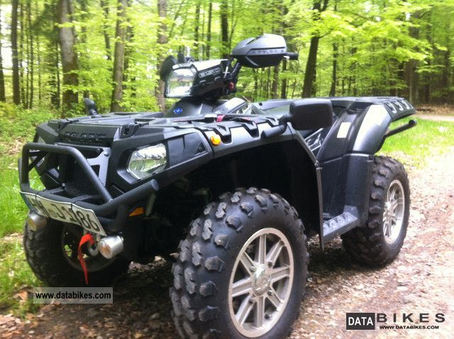 2011 Polaris  Sportsman 850 XP Motorcycle Quad photo