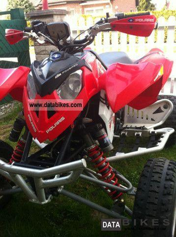 2008 Polaris  Outlaw Motorcycle Quad photo