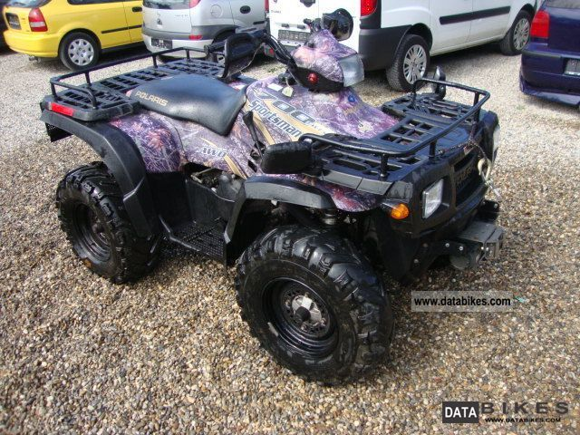 2004 Polaris  SPORTSMAN 700 Twin 4x4 AWD + ON DEMAND NEW TÜV Motorcycle Quad photo