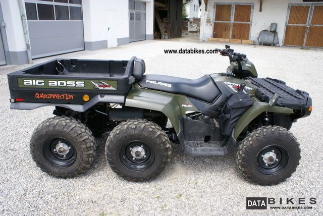 quad polaris 6 x 6