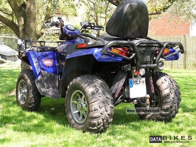 2009 Polaris  Sportsman 800 EFI Touring Motorcycle Quad photo