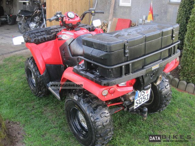 2007 Polaris  Sportsman 800 in red - immediately ready to Motorcycle Quad photo