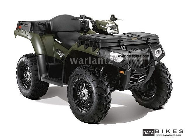 2011 Polaris  Sportsman 850 X2 Motorcycle Quad photo
