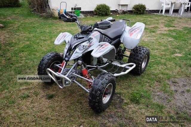 2005 Polaris  Predator 500 approval more than yfz, trx, ltz Motorcycle Quad photo