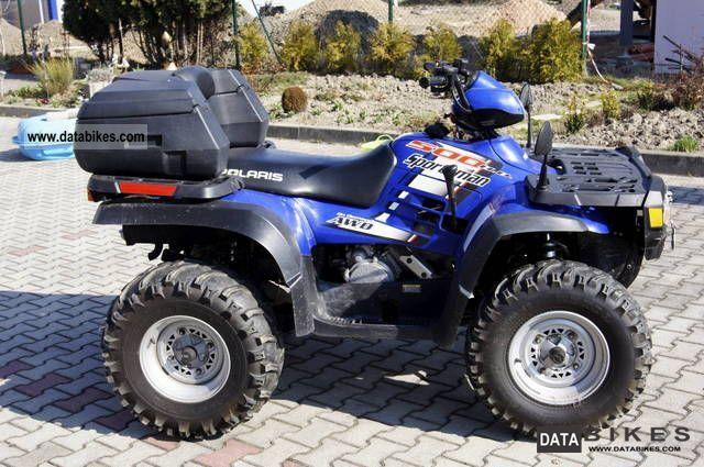2004 Polaris  Sportsman 500 H.O. 4WD Motorcycle Quad photo