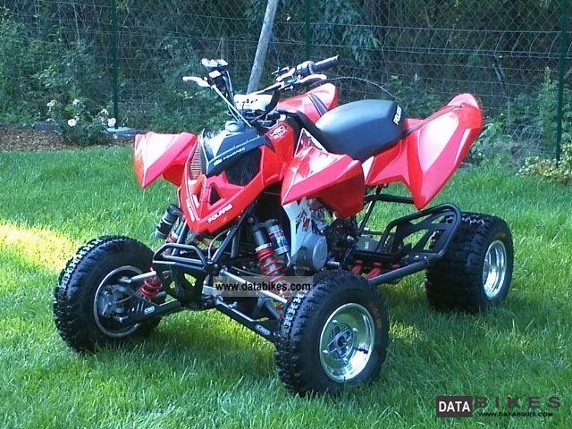 2011 Polaris  Outlaw 450 MXR Motorcycle Quad photo
