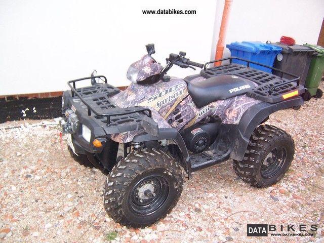 2005 Polaris  Sportsman 500 H.O. - 4 WD Motorcycle Quad photo