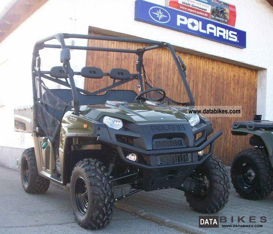 2011 Polaris  Ranger 4x4 Diesel 3 persons Lof approval orig Motorcycle Quad photo
