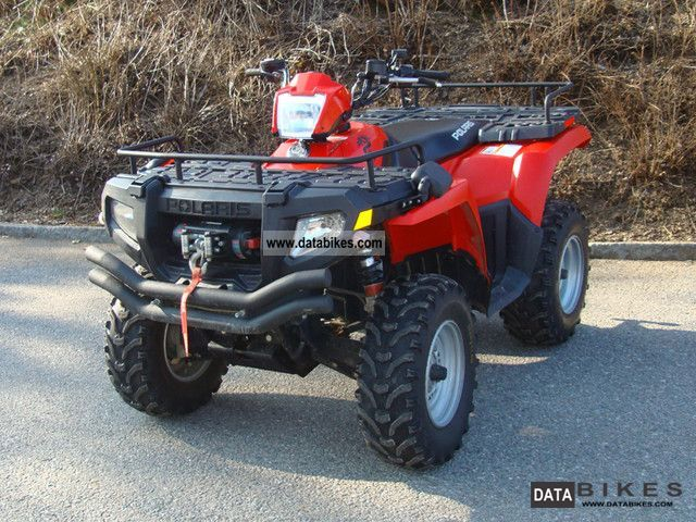 2008 Polaris  Sportsman 500 HO ** Accessories ** Motorcycle Quad photo