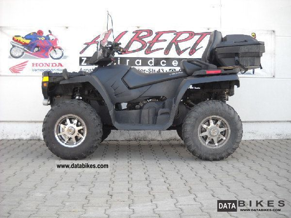 2008 Polaris  SPORTSMAN 500 EFI TOURING CarGarantie + 305, - E Motorcycle Quad photo