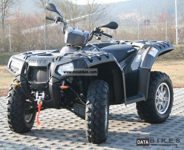 2011 Polaris  Sportsman 850 HO 2012er model in stock Motorcycle Quad photo