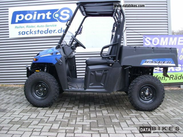 Polaris  Ranger EV electric demonstrator 2010 Electric Motorcycles photo