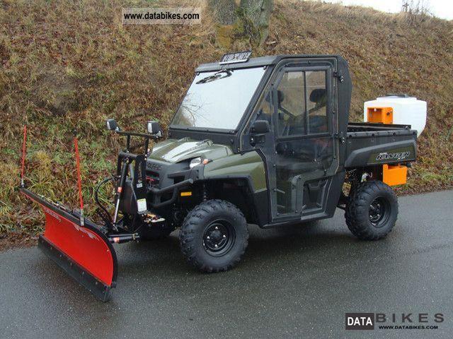 Polaris  Ranger XP 800 EFI EPS ** WINTER ** 2011 Quad photo