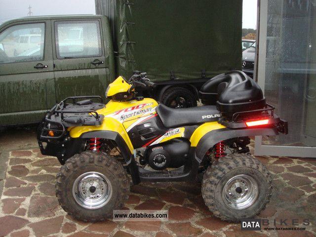 2004 Polaris Sportsman 700 Twin 4x4 winch AHK case Rammbüge