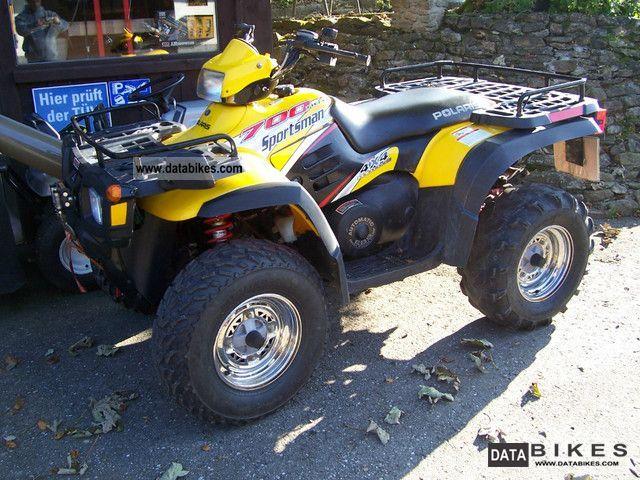 2003 Polaris  Sportsman 700 four-wheel Motorcycle Quad photo
