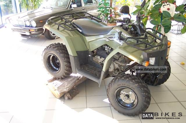 2007 Polaris  Sawtooth Motorcycle Quad photo