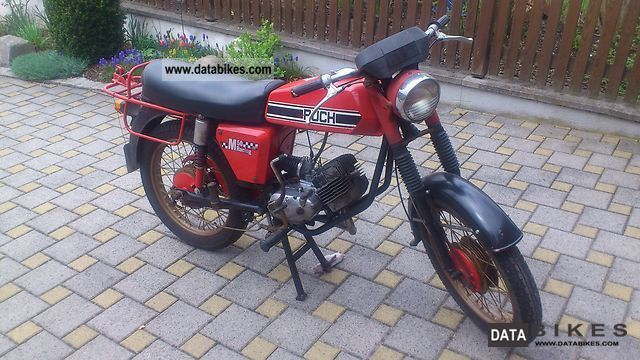 Puch  M 50 Racing 1977 Vintage, Classic and Old Bikes photo