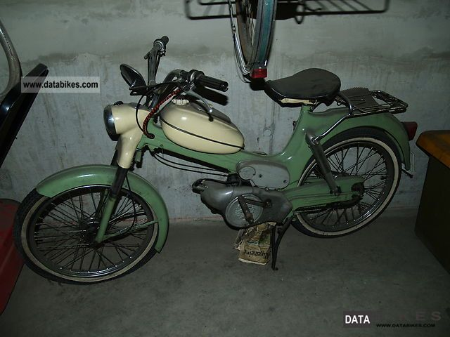 1974 Puch  MS 50 V Motorcycle Motor-assisted Bicycle/Sm