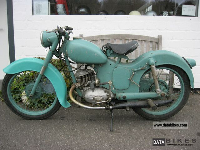 Puch  SV150 TL 1953 Vintage, Classic and Old Bikes photo