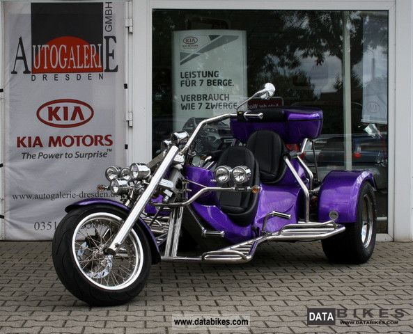 2009 Rewaco  FX4 GT 1.8L boxer 4-speed, metallic, top box, etc. Motorcycle Trike photo