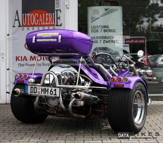 2009 Rewaco FX4 GT 1.8L boxer 4-speed, metallic, top box, etc.