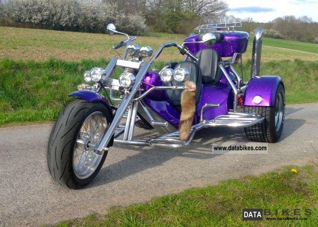 2009 Rewaco  FX4 Chopper TOP CONDITION Motorcycle Trike photo