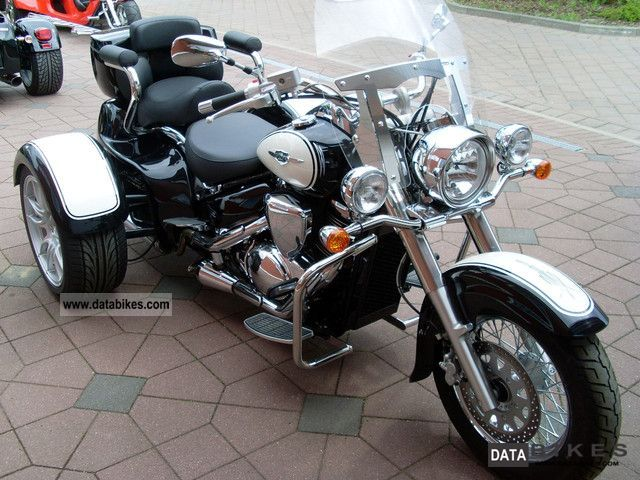 2011 Rewaco  CT 800 with a special color combination Motorcycle Trike photo