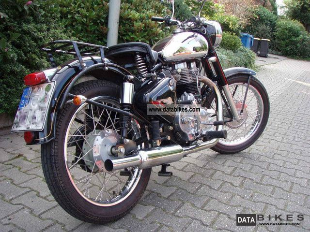 2008 Royal Enfield Bullet 500 Standard Price Now For The Sunshine