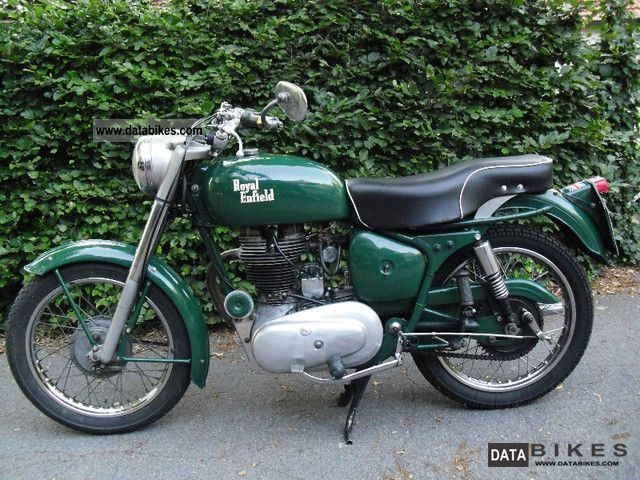 Royal Enfield  Bullet 1958 Vintage, Classic and Old Bikes photo