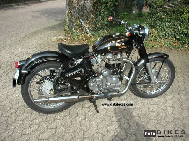 2005 Royal Enfield  Bullet 500 4 speed conversion Pig7 Motorcycle Motorcycle photo