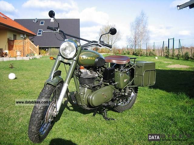 2004 Royal Enfield  Bullet 500 Military Motorcycle Motorcycle photo