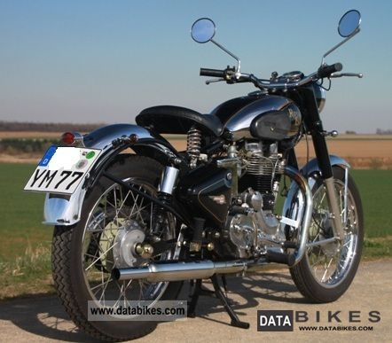2008 Royal Enfield  Bullet 500 Deluxe Motorcycle Motorcycle photo