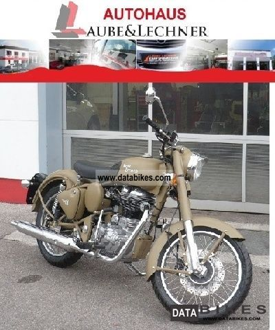 2011 Royal Enfield  Bullet 500 Desert Storm avail again.! Motorcycle Motorcycle photo