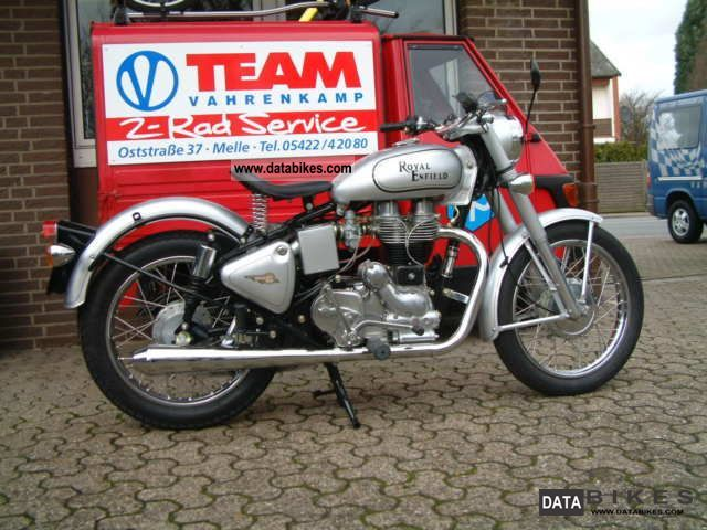 2011 Royal Enfield  500 Silver Bullet Silver Star Conversion Motorcycle Tourer photo