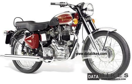2011 Royal Enfield  Bullet 500 Deluxe 4-course Motorcycle Tourer photo