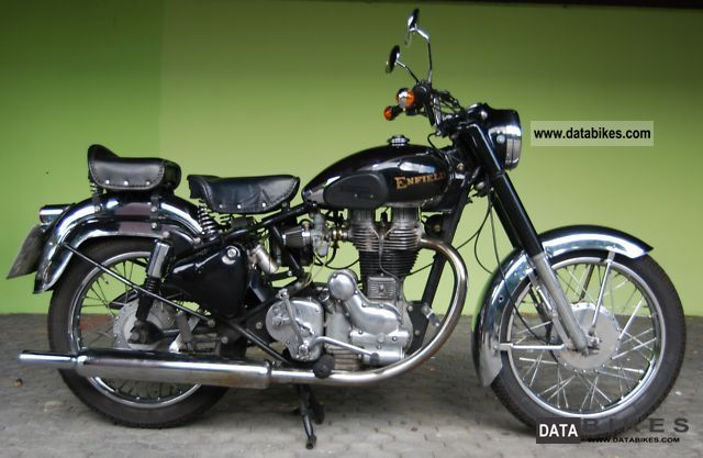 1985 Royal Enfield  Bullet 500 Deluxe Motorcycle Tourer photo