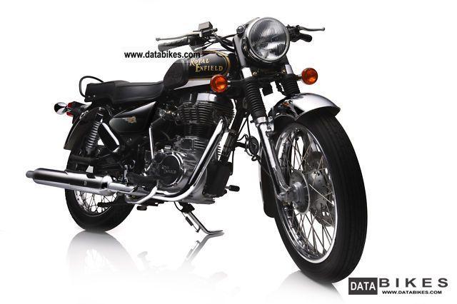 2011 Royal Enfield  Bullet 500 Electra EFI de luxe black / chrome Motorcycle Motorcycle photo