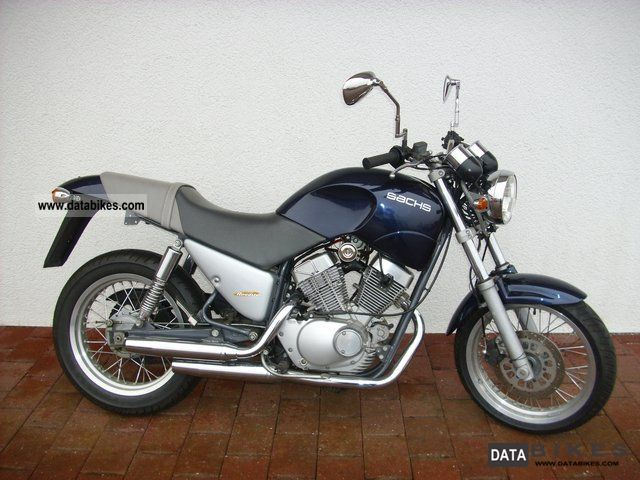 2001 Sachs  125 ROADSTER Motorcycle Chopper/Cruiser photo