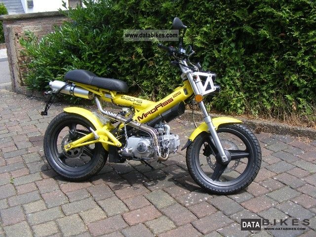 2010 Sachs  MadAss125 Motorcycle Motorcycle photo