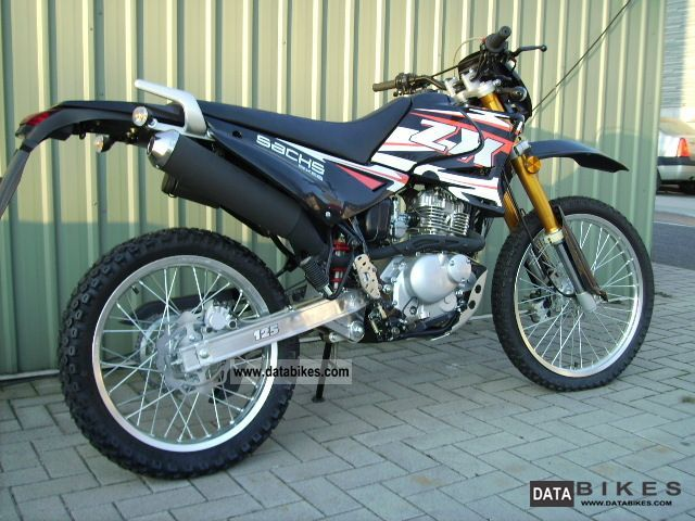 2011 sachs sachs zx 125 enduro action. Black Bedroom Furniture Sets. Home Design Ideas