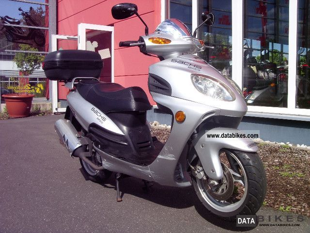 2007 Sachs  F1 125 - NM Motorcycle Scooter photo