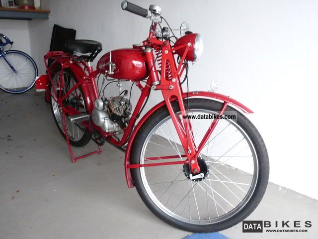1937 Sachs  GKH 100 Men Motorcycle Other photo