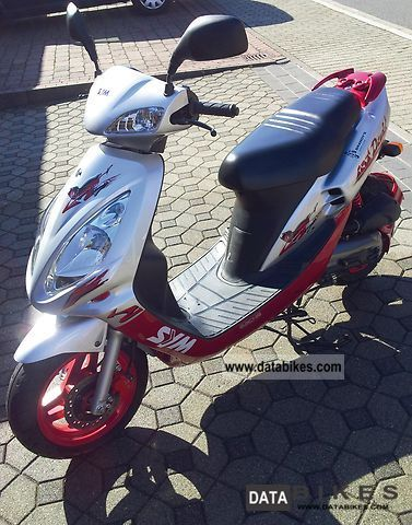 Sachs  SYM Red Devil 50 2004 Scooter photo