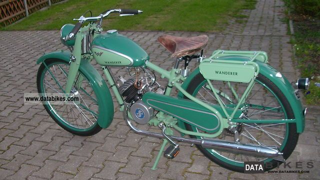 Sachs  Wanderer 1938 Vintage, Classic and Old Bikes photo