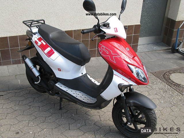 2012 Sachs  SX 50 Motorcycle Scooter photo