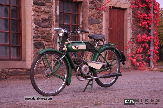 Sachs  Wanderer 98 cc 1932 Vintage, Classic and Old Bikes photo