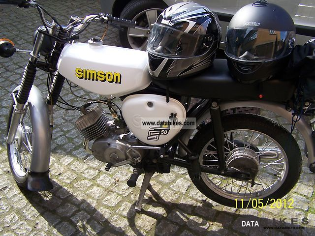 Simson  S 50 1979 Vintage, Classic and Old Bikes photo