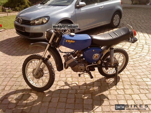 1980 Simson  S51 / S50 Motorcycle Motor-assisted Bicycle/Small Moped photo