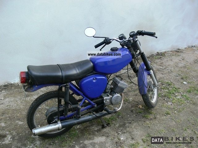 1982 Simson  S 51 B 2-4 Motorcycle Motor-assisted Bicycle/Small Moped photo